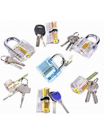 Set of mix locks, Learn how...